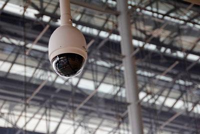 Cámara de videovigilancia en tu trabajo