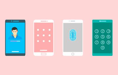 Tipos de bloqueo seguro para smartphone