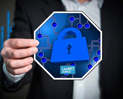 Datos personales desprotegidos en Lexnet